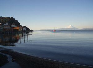 Chile Seengebiet Puerto Varas Panorama