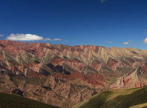 Argentinien Salta Berge