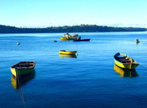 Chile Chiloe Boote Jeff Warren