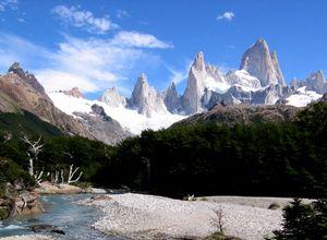 Argentinien El Chalten Fitz Roy Panorama 2