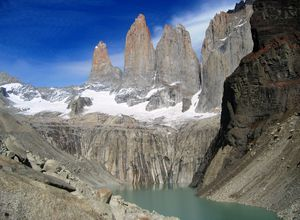Chile Patagonien Torres del Paine Nationalpark Aussichtspunkt Base