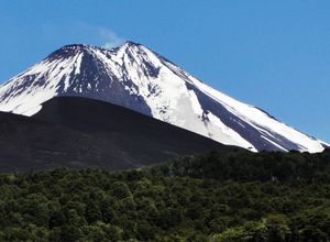 Chile NP Conguillío Vulkan Llaima