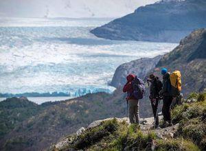Argentinien Torres del Paine Grey Gletscher