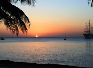 Kuba Maria la Gorda Sonnenuntergang