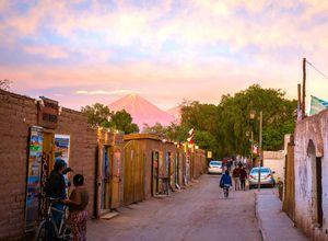 Chile San Pedro de Atacama Straße