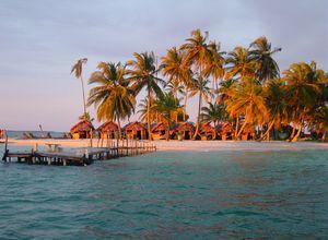 Panama San Blas Sonnenuntergang 2
