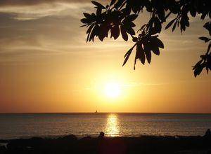 Playa Hermosa Sonnenuntergang