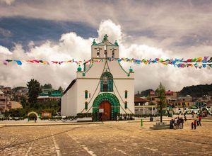 Mexiko Chamula Kirche