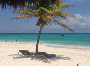 mexiko yucatan xpu ha strand