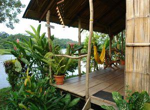Sabalos Lodge Veranda