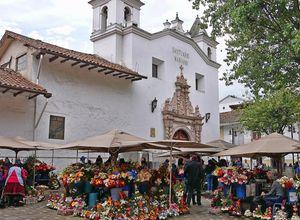Ecuador Cuenca Blumenmarkt Allan Grey