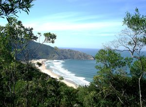 Brasilien Florianopolis Küste
