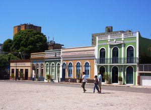 Brasilien Manaus Strasse