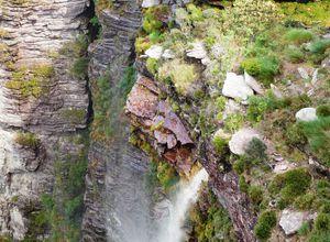 Brasilien Cachoeira da Fumaca Wasserfall