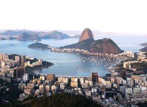 Brasilien Rio de Janeiro Panorama