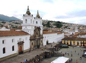 Ecuador Quito Kathedrale San Francisco