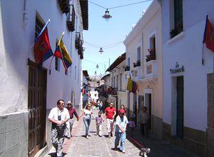 Ecuador Quito La Ronda