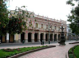 Ecuador Riobamba koloniales Gebäude
