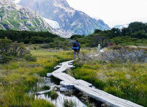 Argentinien El Calafate Wanderung