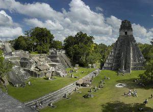 Guatemala-Flores-Tikal-Ansicht
