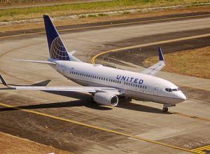 United-Flugzeug
