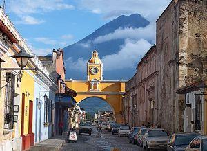 Guatemala Antigua Vulkan