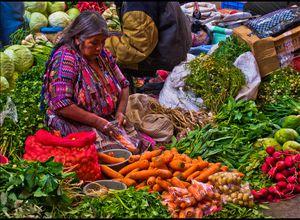 Guatemala Chichicastenango Markt