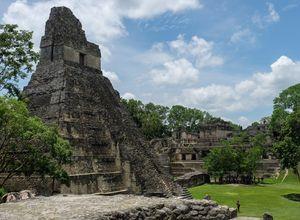 Guatemala Tikal mayaruine