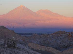 Chile San Pedro de Atacama Mondtal