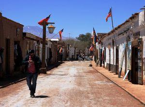 Chile San Pedro de Atacama Strasse
