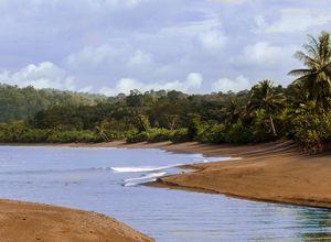 Costa Rica Isla del Caño Strand