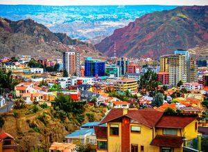 Bolivien La Paz Süden