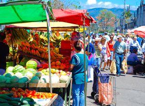 Costa Rica San Jose Markt