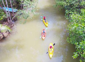 Costa Rica Manuel Antonio Kayaktour Isla Damas
