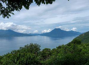 Guatemala Atitlan See Panorama 2