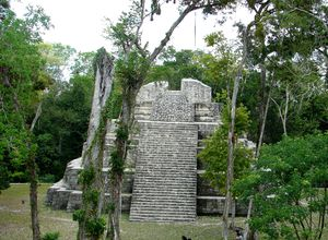 Guatemala Yaxhá Mayastätte