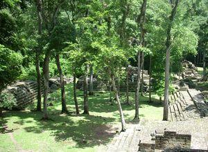 Honduras Copan Mayastätte