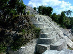 Guatemala Yaxha Tempel