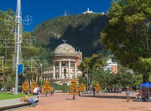 Ankunft in Bogota