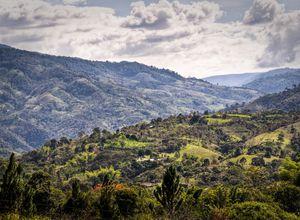 Kolumbien San Agustin Naturlandschaft