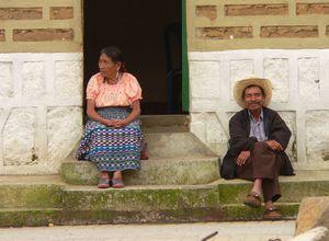 Guatemala Haus Ehepaar