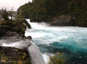 Chile Petrohué Wasserfälle