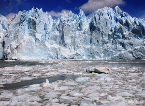 Argentinien Santa Cruz Perrito Moreno Gletscher