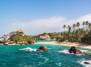 Kolumbien Tayrona Nationalpark Strand