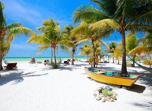 Mexiko Isla Holbox Strand iStock 122296464