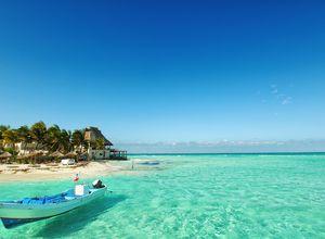Mexiko Tulum Strand iStock 484404659