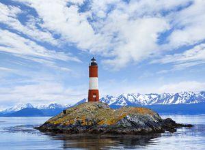 Argentinien Ushuaia Beagle Kanal Leutturm iStock 171578227