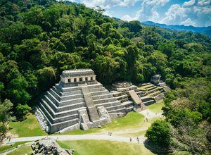 Mexiko Stätte Palenque iStock 680794592