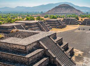 Mexiko Teotihuacan Stätte