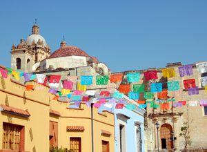 Mexiko Oaxaca Stadt